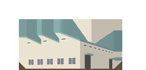 工場の清掃