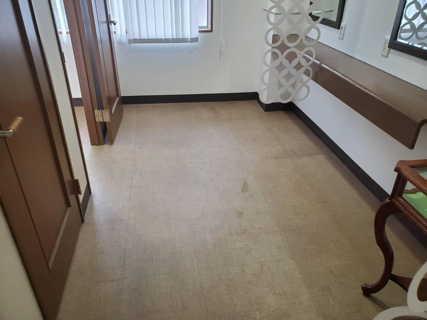 床面 特別清掃