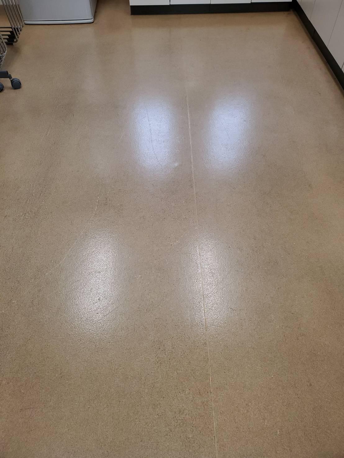 コミュニティーセンター 床面清掃