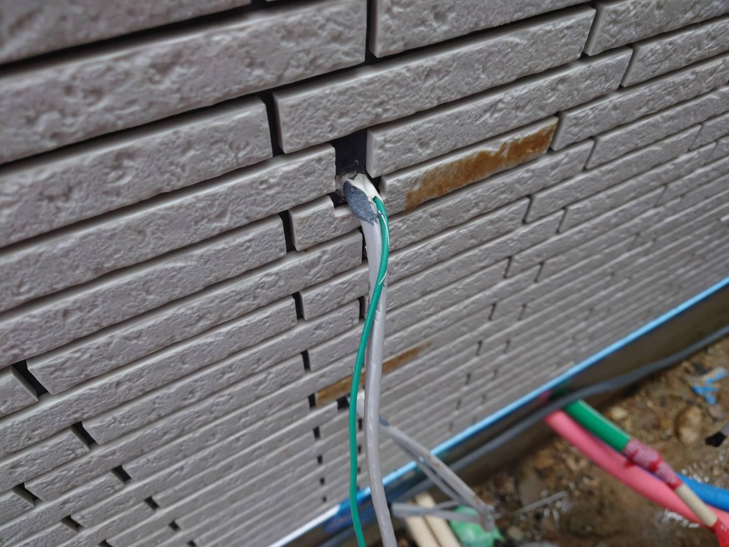 新築 外壁及び下屋根洗浄